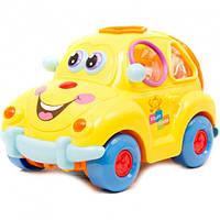 Музыкальная машинка-сортер Joy Toy Автошка Желтый gabkrp225Qpsk19445, КОД: 916329