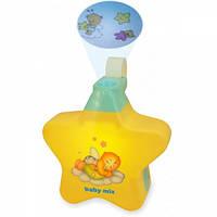 Детский ночник проектор музыкальный Baby Mix Звездочка ТТ-01910372, желтый
