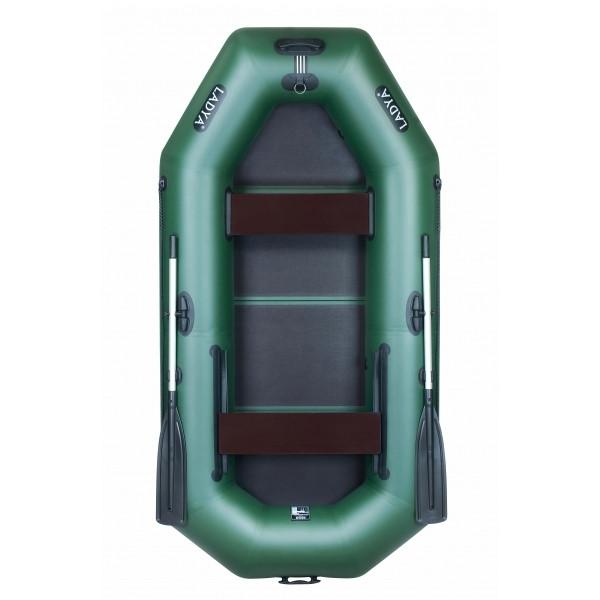 Надувная лодка Ладья ЛТ-270-ВЕ (слань-книжка)