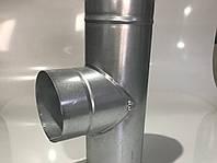 Тройник 90° из оцинкованной стали для дымоходов ⌀150 0,5 мм