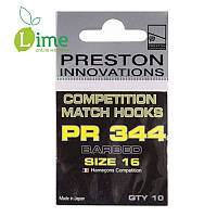 Крючки Preston Competition Hooks 344 (уп. 10 шт)