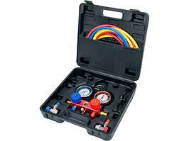 Набор для обслуживания систем кондиционирования YATO для группы R-134A, 6 шт. (YT-72990)