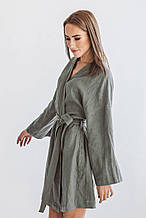 Женские халаты льняные размер L-XL