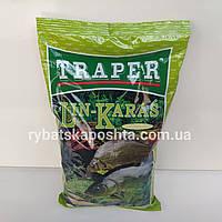 Рыболовная прикормка TRAPER Popular Lin Karas 1kg.Трапер Линь Карась для фидерной и поплавочной ловли