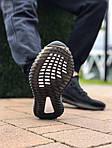 Мужские кроссовки Adidas Yeezy Boost Black 421TP, фото 2