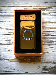 Зажигалка USB Graving Gold Slider