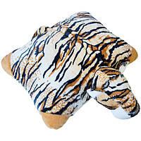 Мягкая игрушка Zolushka Подушка трансформер тигр 37см 409, КОД: 1463347