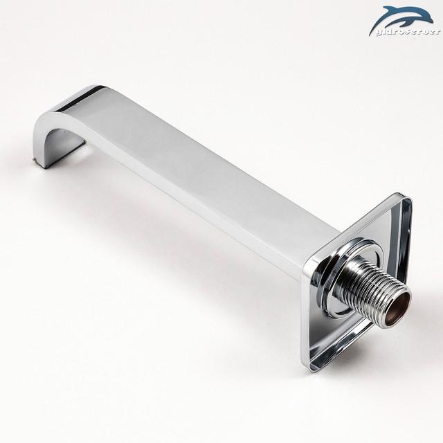 Гусак для душевой системы скрытого монтажа IL-11 встраивается в стену ванной комнаты.