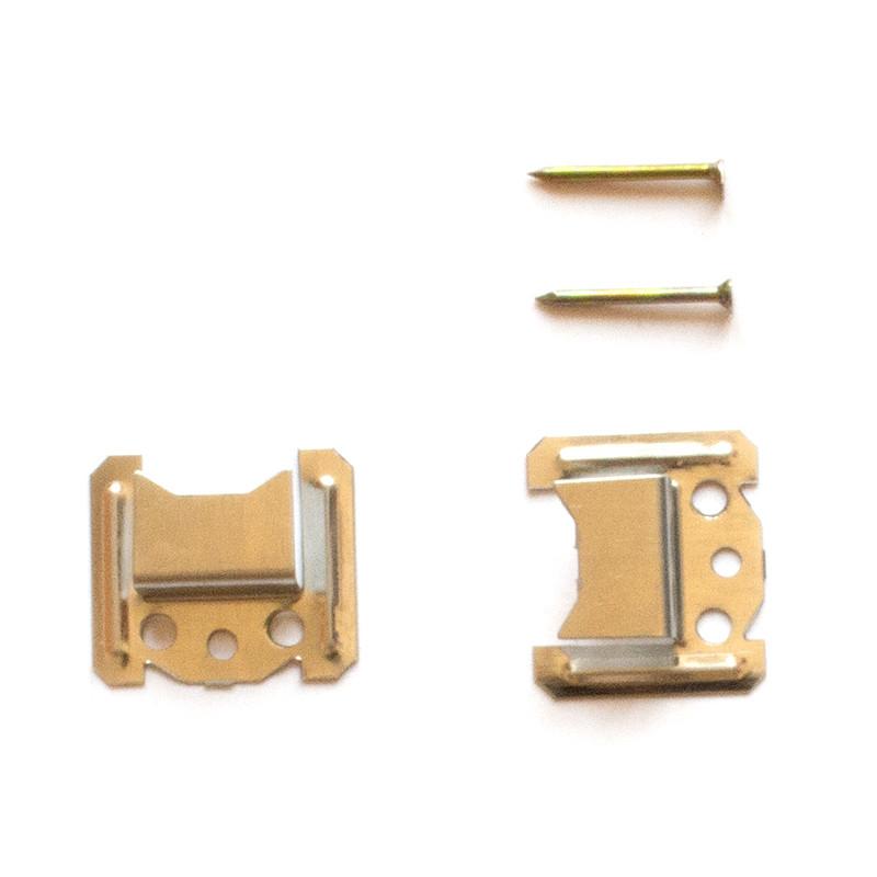 Кляймер № 5 (5 мм) для крепления деревянной вагонки (упаковка 80 шт.)