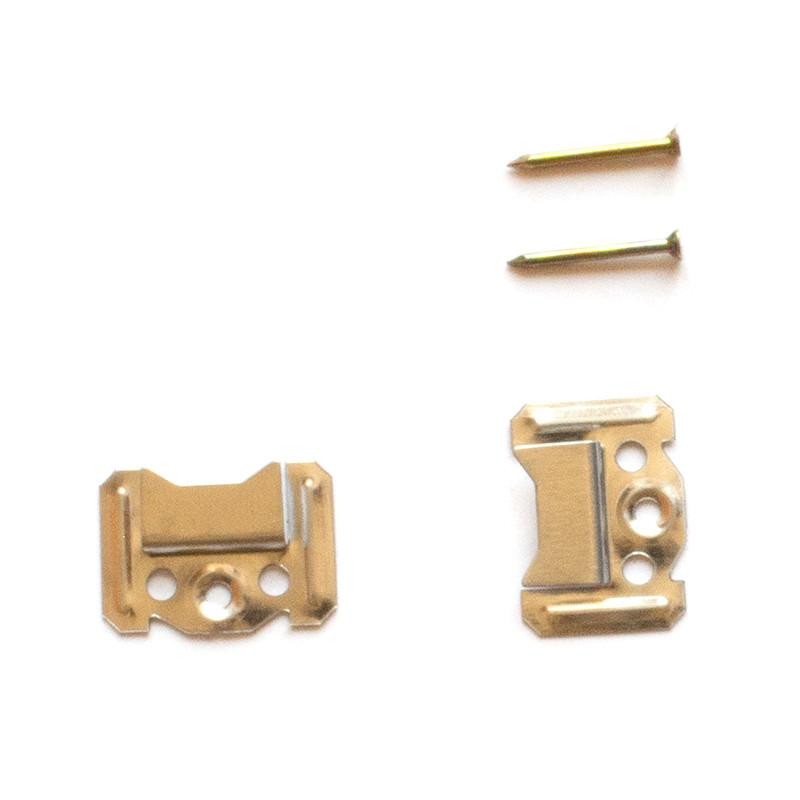 Кляймер № 2 (2 мм) для кріплення вагонки, МДФ (упаковка 100 шт)