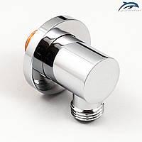 Підключення душового шланга для лійки ручного душа UD-17 латунний.