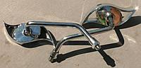 Зеркала металл хром №3