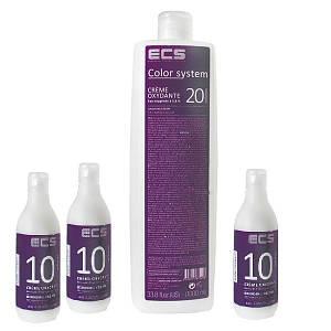 Окислительные эмульсии к стойкой крем-краске для волос Color System