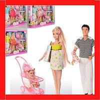 Кукла DEFA Семья 8088 (4 вида)