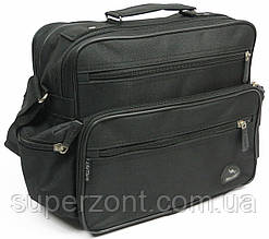 Практичная мужская сумка Wallaby 2440 черный