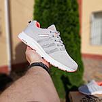 Женские кроссовки Adidas NEO (серо-розовые) 20129, фото 2