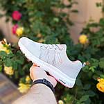 Женские кроссовки Adidas NEO (серо-розовые) 20129, фото 4