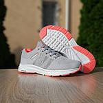 Женские кроссовки Adidas NEO (серо-розовые) 20129, фото 7