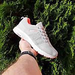 Женские кроссовки Adidas NEO (серо-розовые) 20129, фото 9