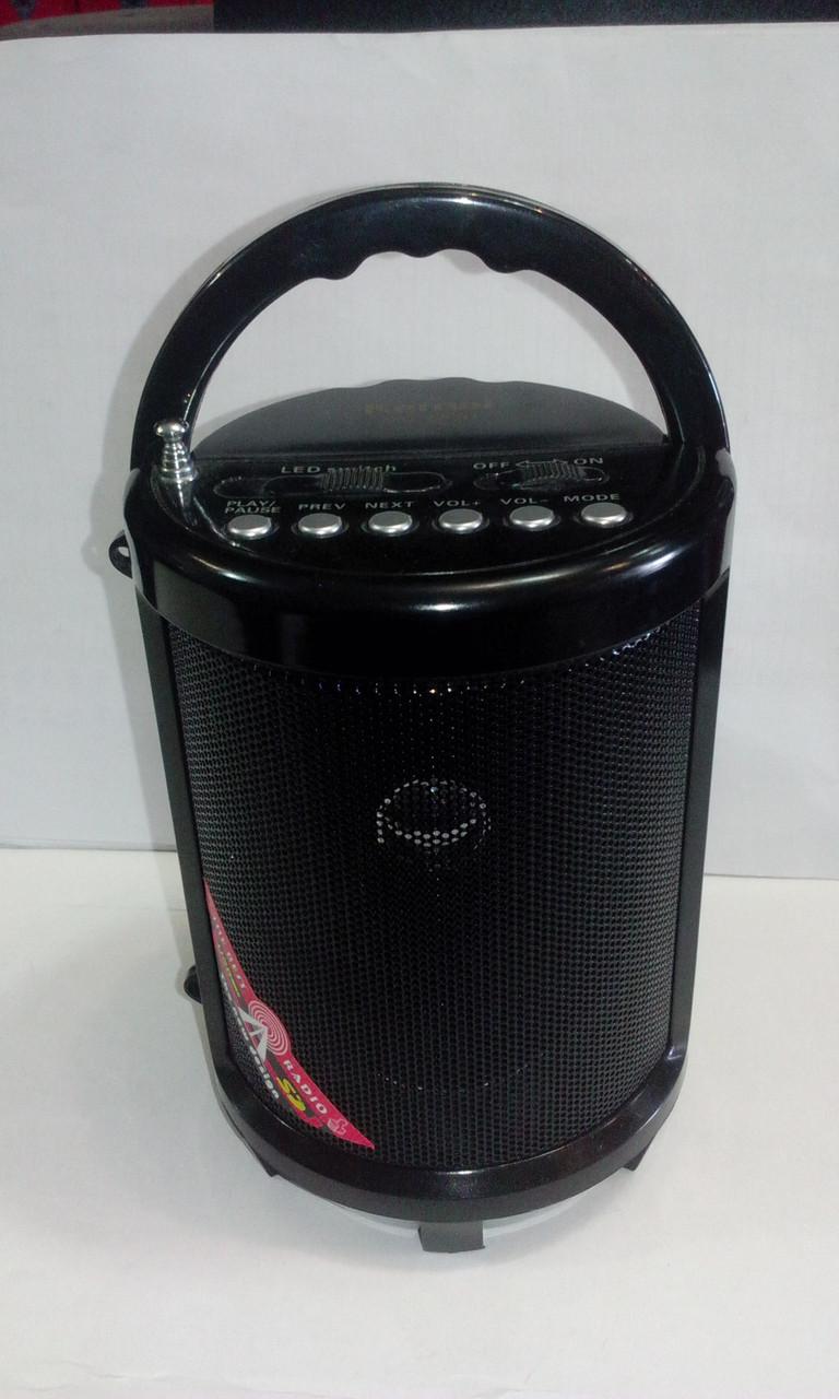 Радио с фонарем MD 603 2 фонаря USB SD аккумулятор
