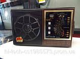 Радіо з акумулятором RX - 9922/RX-9933 акумулятор ручне налаштування радіо корпус дерево, фото 2