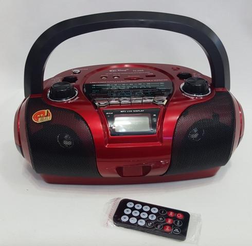 Бумбокс радиоприемник с USB PX-308 USB SD дисплей пульт