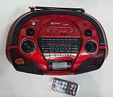 Бумбокс радиоприемник с USB PX-308 USB SD дисплей пульт, фото 2