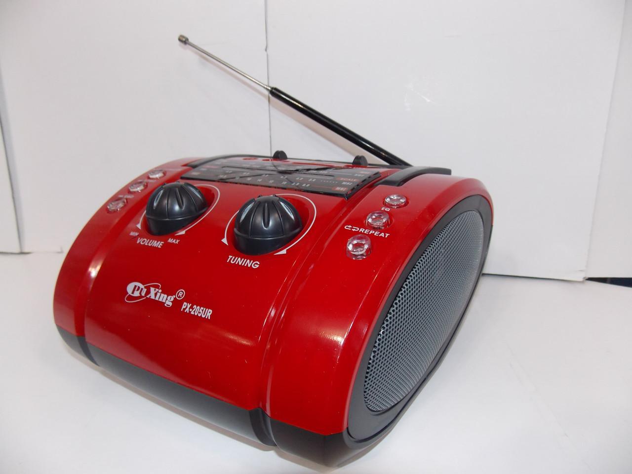 Радио Pu Xing PX-205 USB SD аккумулятор