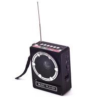 Радио переносное маленькое RS-017/RS-018 USB SD аккумулятор