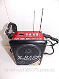 Радіо Red Sun RS-9801 USB SD ліхтарик акумулятор, фото 2