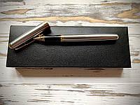 Ручка подарочная с гравировкой Lux Steel 09