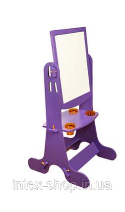 Мольберт (фиолетовый) раздвижной Bambi (Финекс Плюс), фото 2