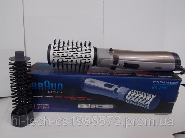 Фен-расческа с вращением Braun BR-2588