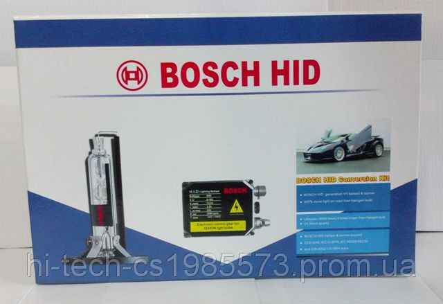 Комплект ксенон Bosch HID H3