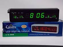 Электронные часы-календарь Caixing CX-808