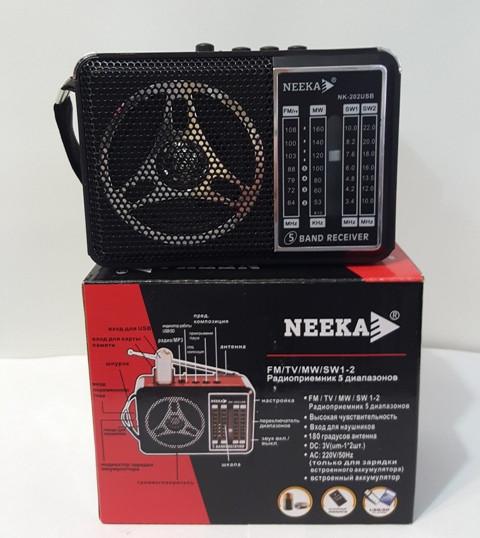 """Радиоприемник колонка """"NEEKA"""" NK-202USB"""