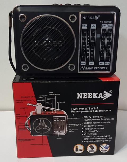 Радиоприемник NEEKA NK-203 USB