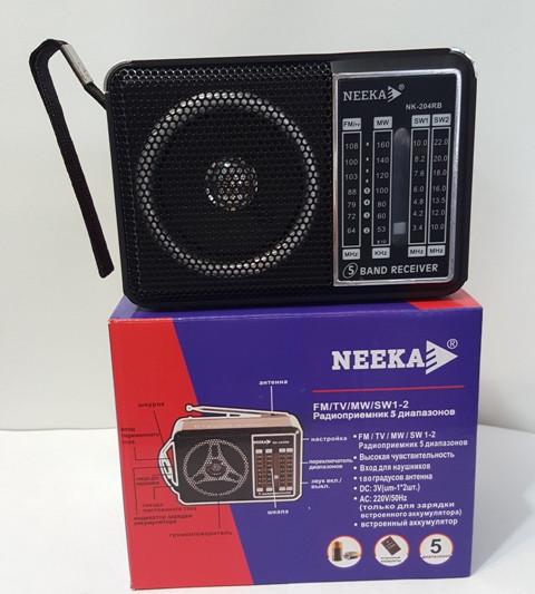 """Радиоприемник колонка """"NEEKA"""" NK-204RB"""