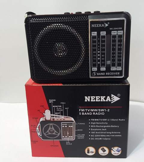 Радиоприёмник Neeka NK-204 USB
