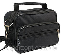 Мужская сумка-барсетка из нейлона Wallaby 2663 черная