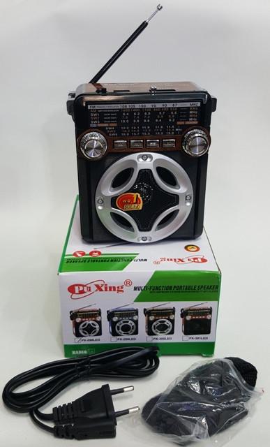 Радіо Puxing PX-298 LED USB TF card SD MMC LED ліхтарик
