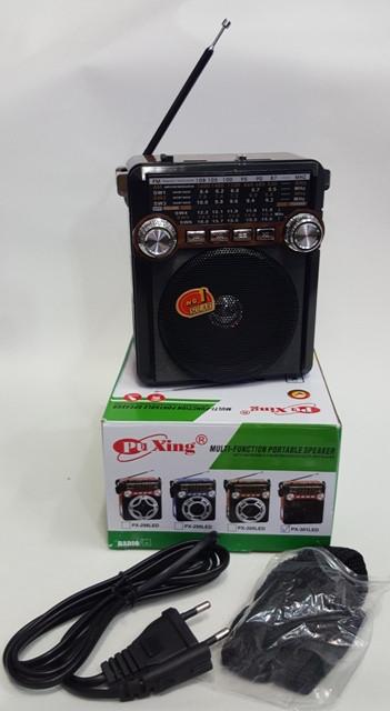 Радио с аккумулятором USB Puxing PX-301