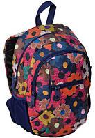 Молодежный рюкзак Paso 24 л Разноцветный 14-178I, КОД: 972276
