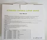Automatic Universal Laptop Adapter 90W 10PIN зарядка универсальная, фото 3