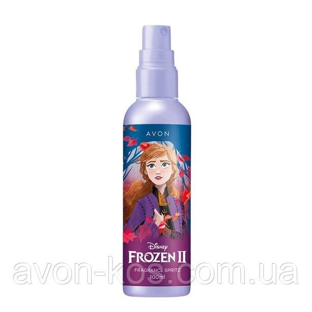 """AVON Disney Frozen II - Холодне Серце 2. Дитяча ароматична вода-спрей для тіла """"Солодка фантазія"""""""