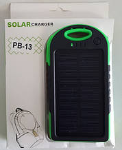 Power Bank 5000mAh 5V 1A на солнечной батарее