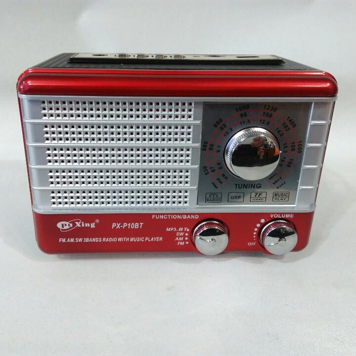 Радіоприймач Puxing PX-P 10 BT