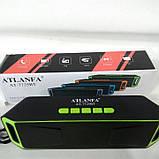 Портативна колонка Atlanfa AT-7725 Bluetooth, фото 2