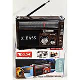Радио GOLON RX 382 с Led фонариком, фото 2