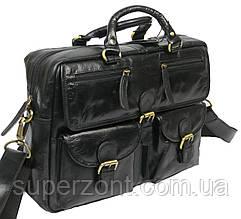 Мужская кожаная сумка-портфель Always Wild CP 146-CBH-58878 черная